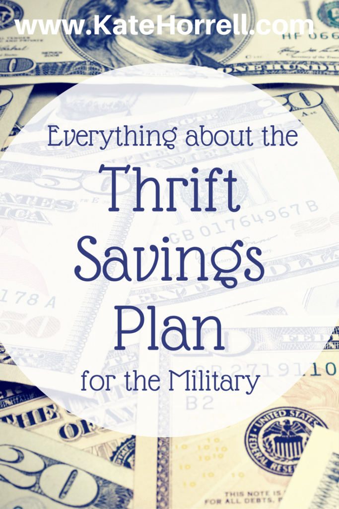 Everything you want to know about the military's Thrift Savings Plan