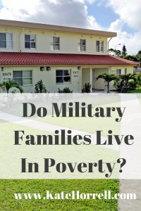 Do military families live in poverty? Let's do the math...
