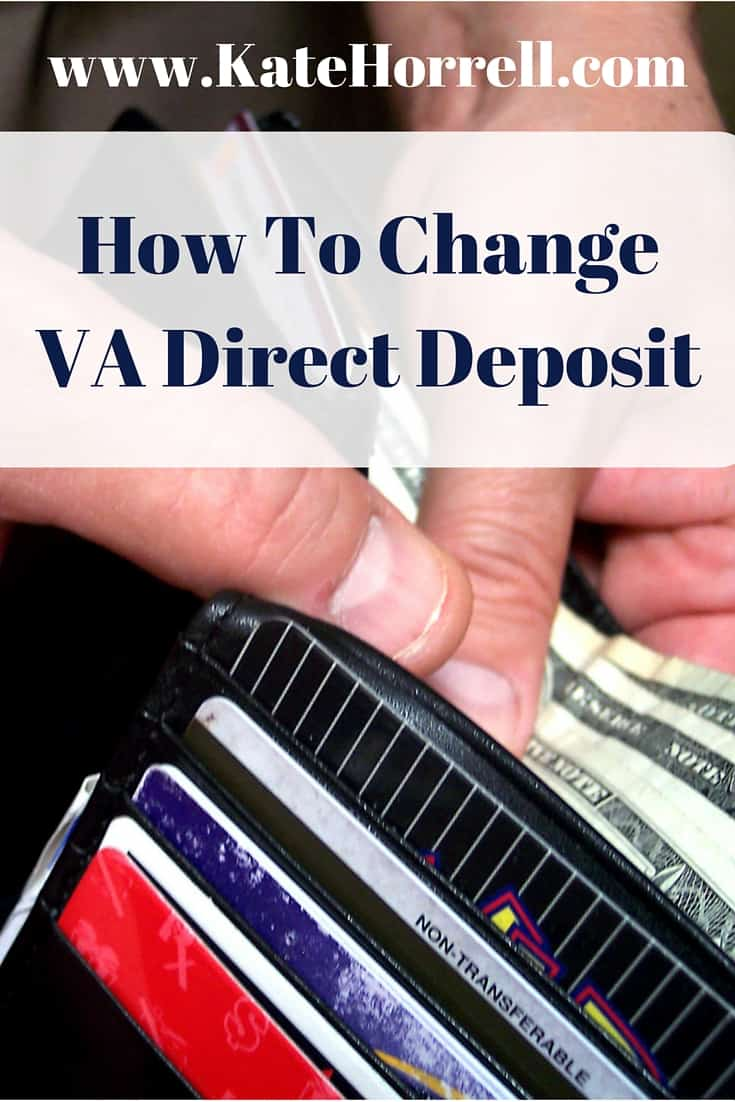 Three Ways To Change Your Bank Account For VA Benefits