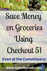 My review of Checkout 51, including using it at the commissary