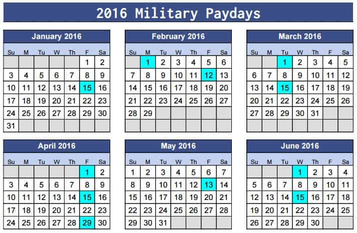 Military Pay Dates 2016 Usaa - 2019-2020 Top Car Updates ...