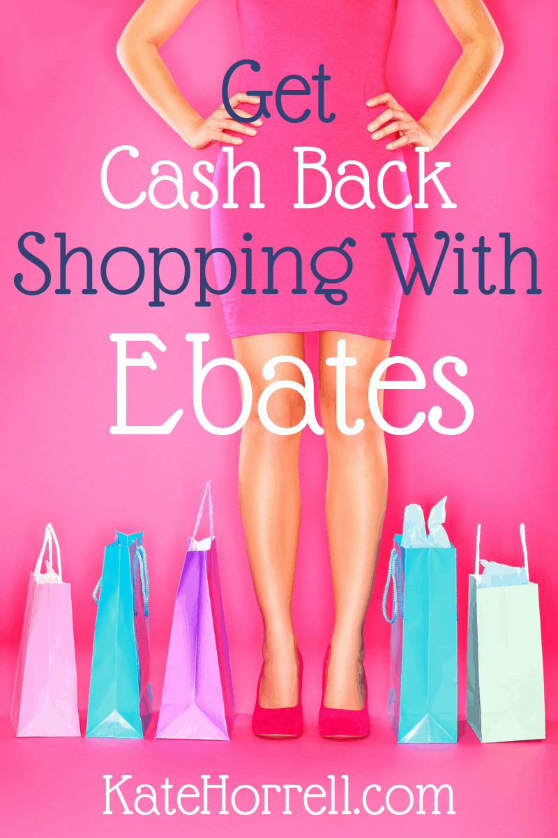 Get rebates when you shop!