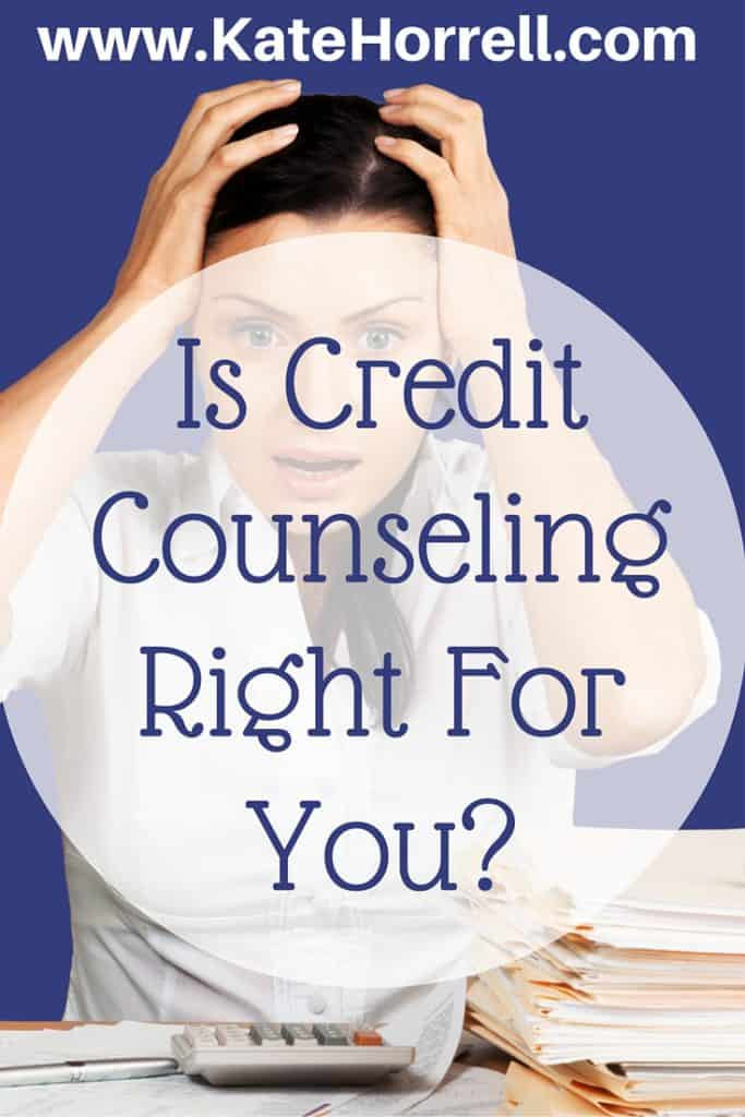 Is Credit Counseling Right For You?