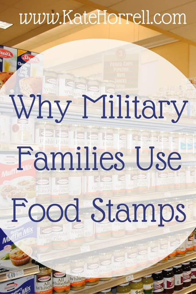 Why Military Families Use Food Stamps