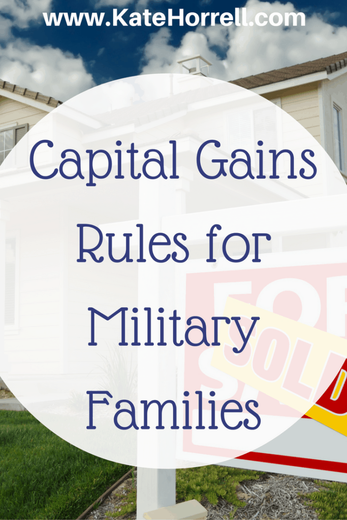 Understanding Capital Gains Rules for Military Families