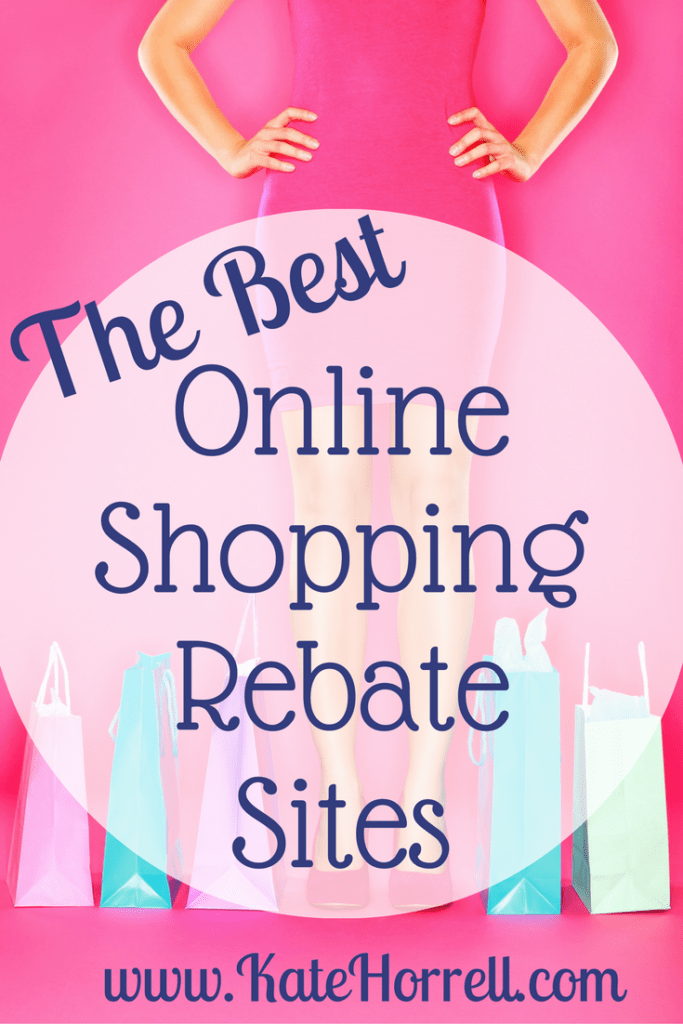 The four best online shopping rebate sites so you can earn cash back.