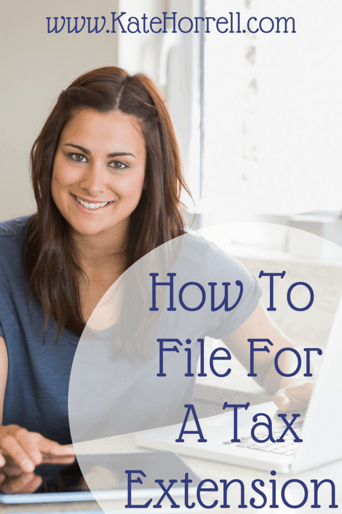It was so easy to follow these directions to get a free tax extension!