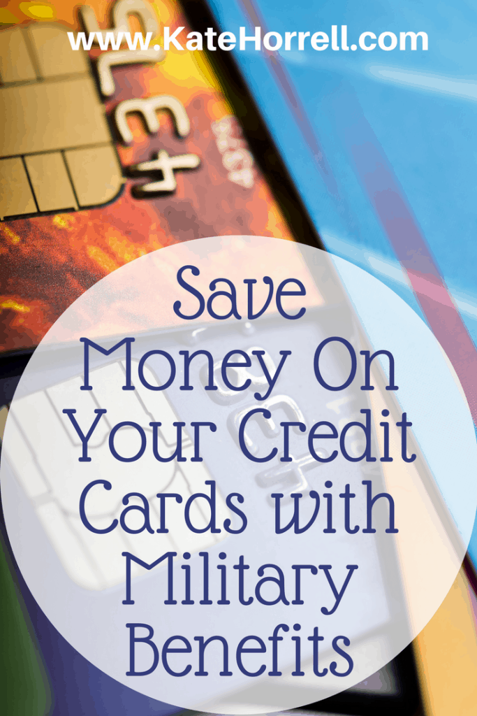 Saving a ton with these military benefits on my credit cards!