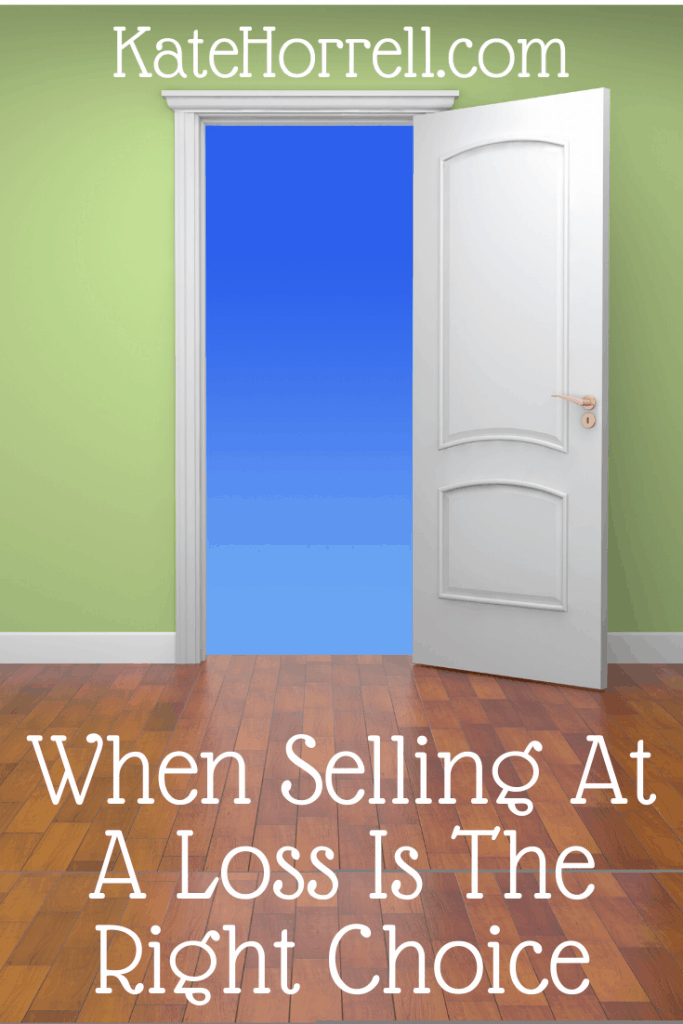 Military families often need to decide whether to sell a house even if they're going to lose money. Sometimes, that's the right choice.