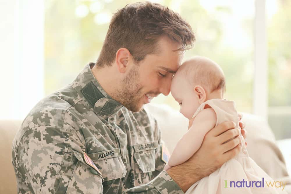 A Tricare breast pump can make it easy for Dad to help feed baby.