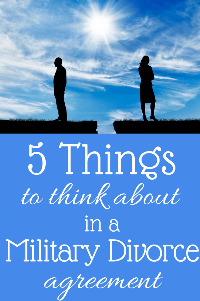 Military and Divorce: Stuff You've Got To Consider - KateHorrell