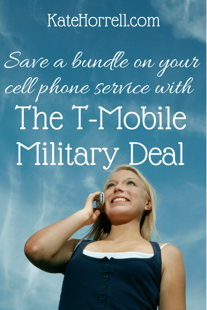 Save a ton with the T-Mobile military deal!