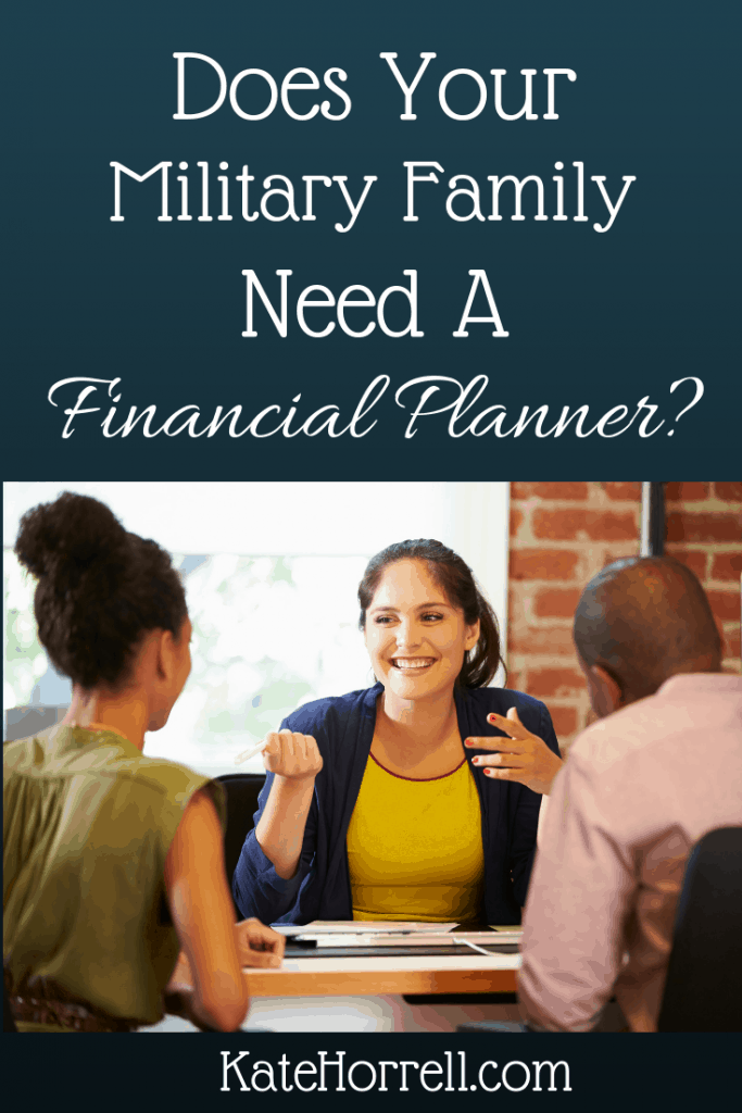 How do you know when you need the help of a financial planner?
