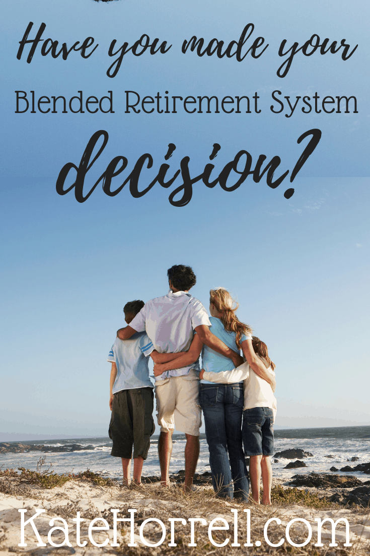 Less than 3 weeks to choose between the military's retirement systems! #sponsored