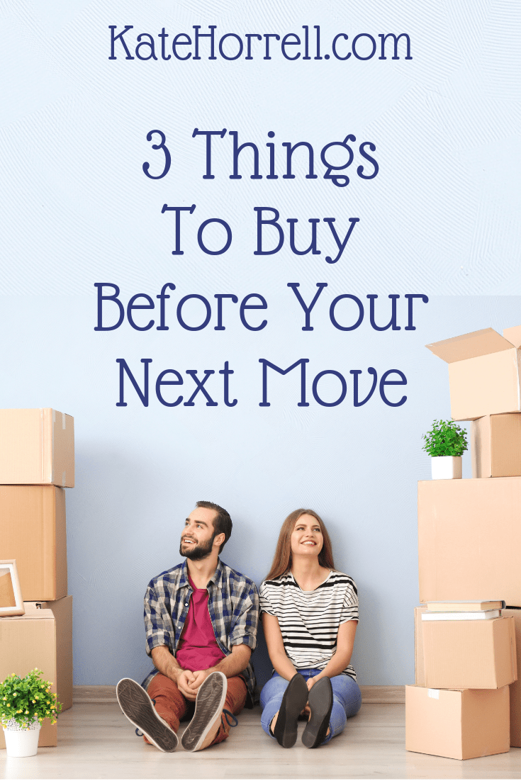 Make your military move easier with these items.