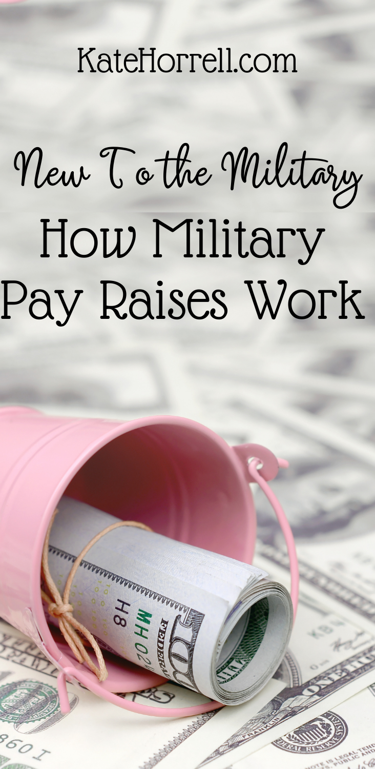 How Military Pay Raises Work